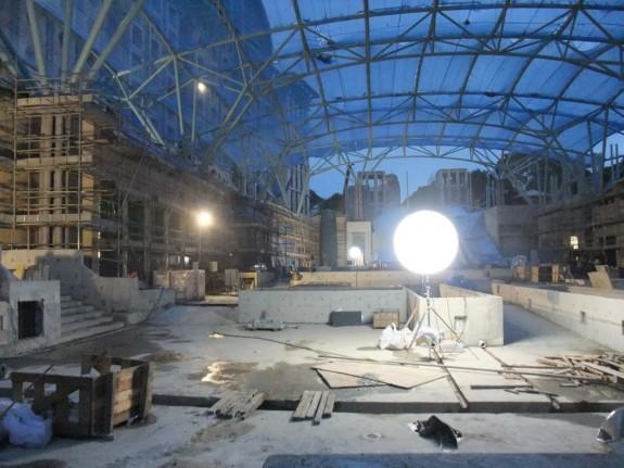 Construction of the Casino of Resort World Sentosa, Singapore