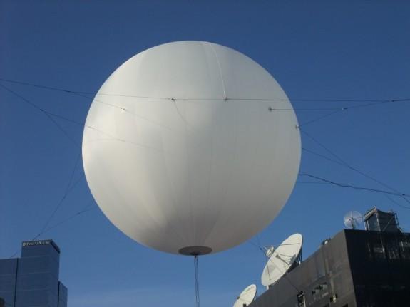 14m Helium Lighting Balloon for Festival Square in Melbourne, Australia