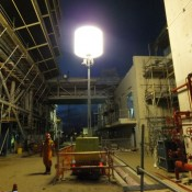Night works, Singapore